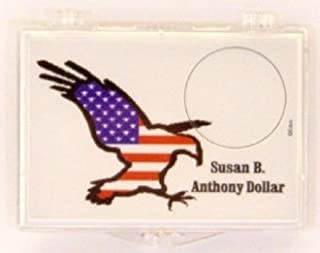 Susan B. Anthony Eagle Snap Lock 2x3 Coin Holder 3 Pack