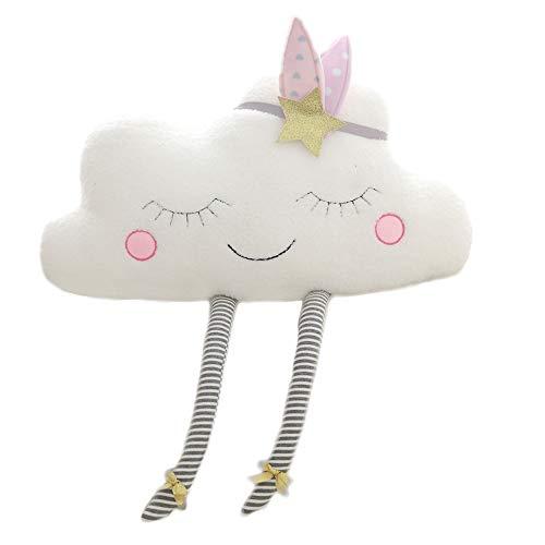 Nooer Plush Soft Cute Cloud Pillow 16 Inch