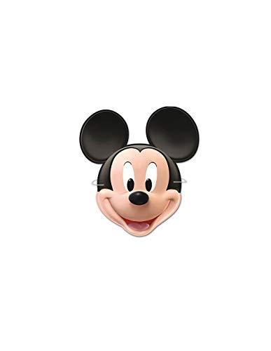 DISBACANAL Set de 6 caretas Mickey Mouse