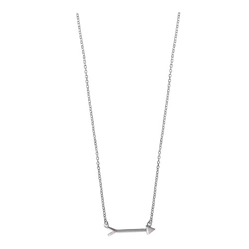 Boma Jewelry Sterling Silver Arrow Necklace, 16 inches