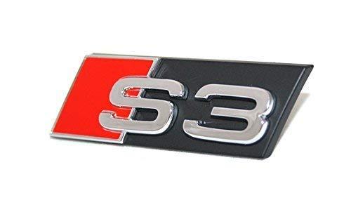 Schriftzug S3 Original Audi A3 8P 8V Kühlergrill Emblem Tuning Zeichen Chrom