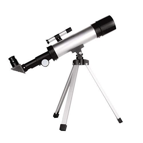 QQLK Astronomisches Teleskop 90/100Mm Teleskop Zoom Hd Monokulares Astronomisches Lichtteleskop Tragbarer Refraktor Mit Stativ F¨¹R Kinder, FüR Kinder Einsteiger Amateur-Astronomen