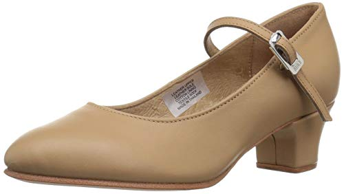 Bloch Women's Curtain Call Dance Shoe, tan, 8 Medium US