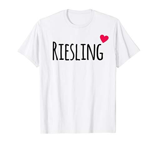 Riesling dialekt Rheinhessen und Pfalz Weinfest T-Shirt