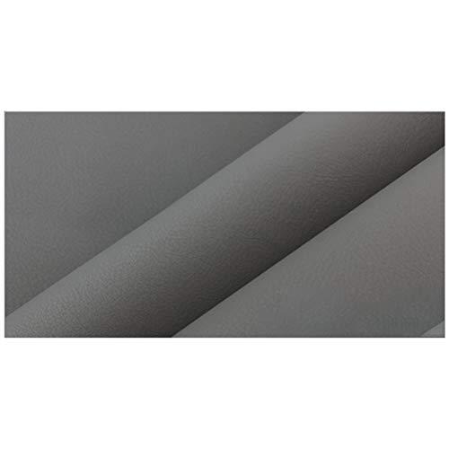 kunstleder Leder Lederimitat Kunstleder Stoff , Dekorationsstoff Home, Wird für die Dekoration von Sofa-Theken und Weichen Wandverpackungen Verwendet. Verkauft in Meter-150 Cm Breite ( Color : Gray )
