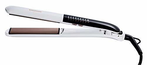 GRUNDIG HS 7831 Touch Control Haarglätter Straight & Curls, Ionic, 8 Temperaturstufen