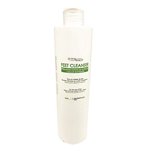 Sesiomworld Reblandecedor Profesional de Durezas Feet Cleanser, 500 ml