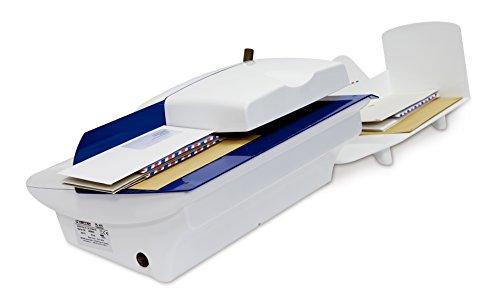 Hefter Systemform OL 420 Automatischer Brieföffner, Briefformate bis B4, blau/weiß