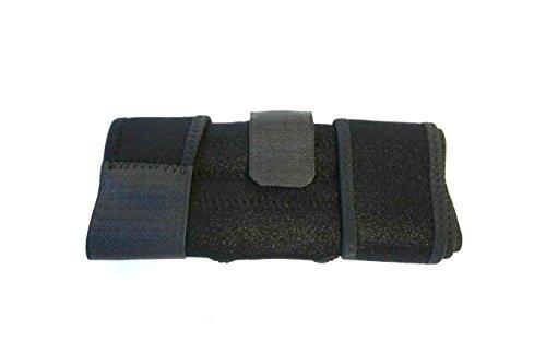 Rodillera elástica de acero Aquarius con 4soportes estabilizadores laterales elásticos de acero inoxidable