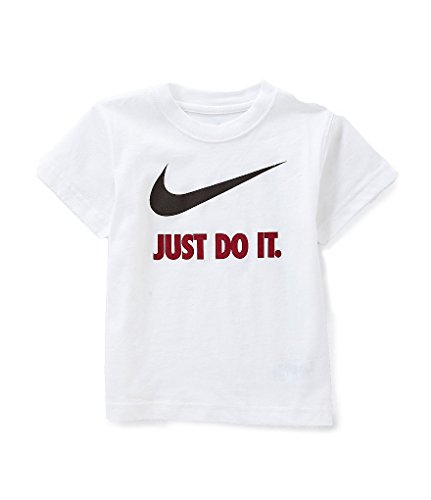 Nike Boys Toddler T-Shirt (3T, White (769461))