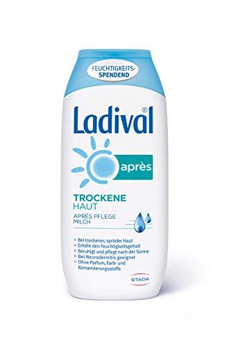 Ladival Trockene Haut Après Pflege Milch – Parfümfreie After Sun Lotion – hautberuhigend und feuchtigkeitsspendend – ohne Farb- und Konservierungsstoffe – 200 ml