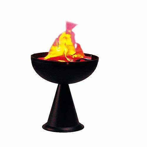 WXH 2 STÜCKE Weihnachten Halloween Party Dekoration Künstliche LED Feuer Flamme Licht, Gefälschte Feuer Fackel Silk Flame Effect, Lagerfeuer Herz Flamme Blitz Fackel