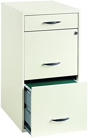 Scranton Co 3 Drawer Steel Fees Surprise price free Cabinet in File White