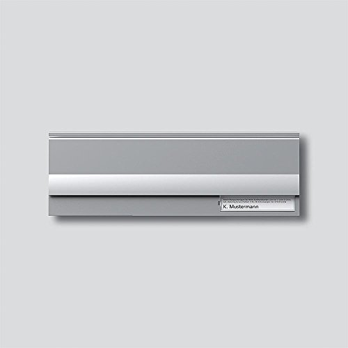 Siedle 2543206 Briefklappenmodul BE 611-3/1-0 SM, silber-metallic