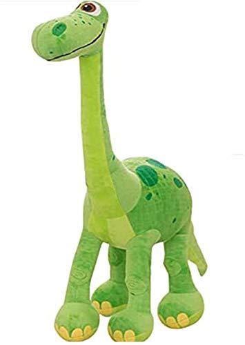 RSBCSHI Gefüllter Dinosaurier Spielzeug Plüsch Stofftier Schöne Weiche PP Baumwolle Plüschtier Home Party Kind Geschenk, für Wohnkultur Plüsch Puppe, grün (Size : 90cm x 70cm)