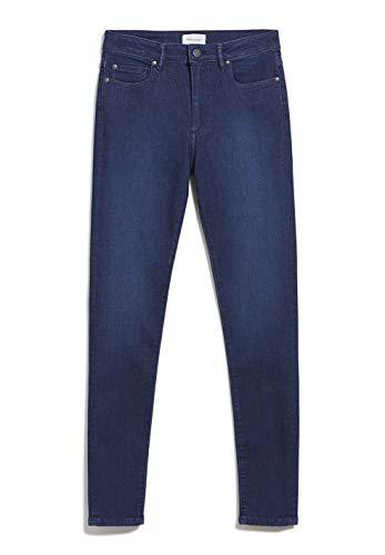 ARMEDANGELS TILLAA X Stretch - Damen Jeans aus Bio-Baumwoll Mix 31/30 Sea Blue Denims / 5 Pockets Skinny Skinny Fit