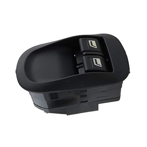 VIKEP Interruptor del levantador de ventanas Interruptor del controlador del conductor Interruptor de control maestro Fit for Peugeot 206 CC, 2D, 2A, SW, 2E, 2K delantero izquierdo/lado derecho Powe