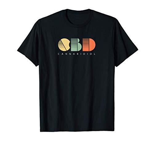 Retro-Jahrgang CBD T-Shirt