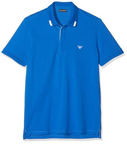 Emporio Armani Underwear 9p461 Polo, Blu (Blu Nautica 24333), Large Uomo