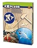 SES Creative Explorar - Kit de excavación - Diente de tiburón - Juguetes educativos