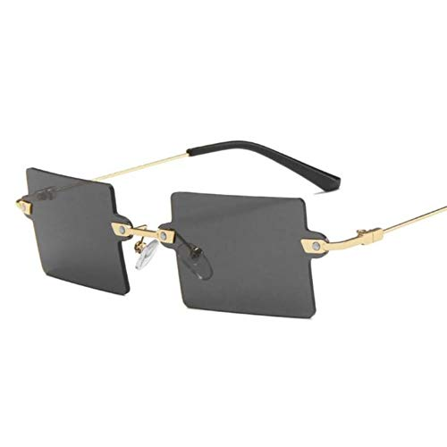 Gafas De Sol Mujeres Gafas De Sol Hombres Mujeres Moda Clásico Estilo Retro Decoración Sexy Metal Marco Cuadrado Coloridas Gafas De Sol Uv400