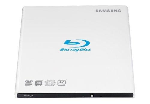 Samsung SE-506AB/TSWD externer Blu-ray 6X Brenner (6X DVD±R DL, USB 2.0) weiß