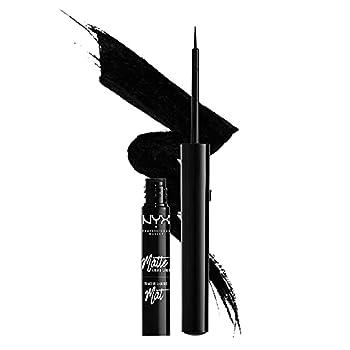 NYX PROFESSIONAL MAKEUP Matte Liquid Liner Waterproof Eyeliner - Black Vegan Formula