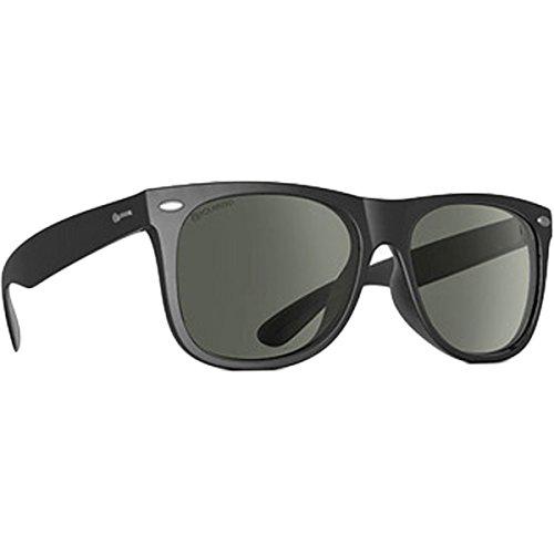 Dot Dash Kerfuffle Adult Sunglasses, Black/Grey Polarizedÿ One Size