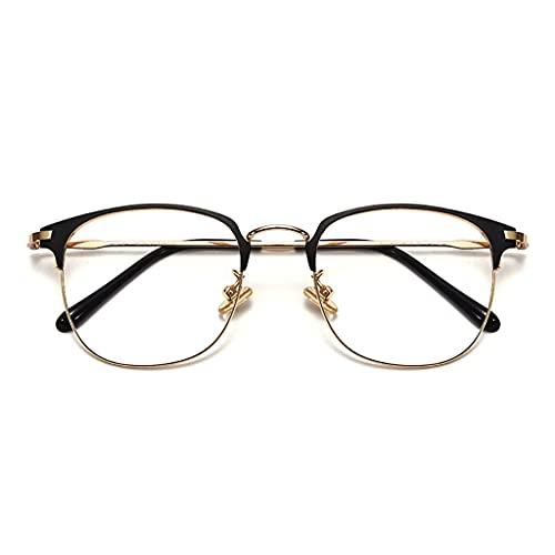 Brillen Blaulichtfilter, Ultraleichte Und Komfortable Reinem Titan,Strahlenschutzbrille,Mode Einfache Unisex,Anti-Blaues Licht Strahlenschutzcomputer Schutzbrille (Color : C)