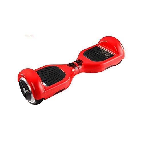 VVBGTS Plegable Mountainbike Vespa Equilibrio Inteligente de Protección Ambiental de Equilibrio eléctrico Vespa de la Bici de Adultos (Color: Rojo, Tamaño: 6.5in) (Color : Red, Size : 6.5in)