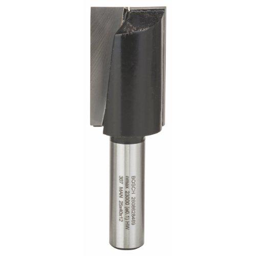 Bosch Professional Zubehör 2608628469 Nutfräser 12 mm, D1 25 mm, L 40 mm, G 81 mm
