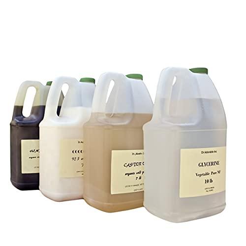 Ostrich Oil by DR.ADORABLE 100% Pure Organic 128FL. Oz/1 Gallon/7 LB
