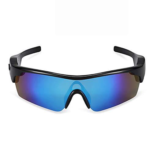 QQO Gafas De Sol Deportivas, Inteligente Lentes 4.1 Estéreo Bluetooth Gafas De...