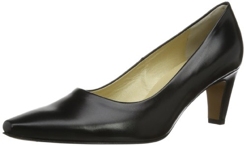 Peter Kaiser Damen MANOLO Pumps, Schwarz (SCHWARZ CHEVRO 100 100), 36