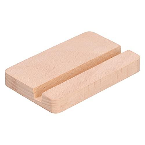 zHONgRT Soporte de madera para teléfono Apple Phone Holder se puede utilizar para uso general en la oficina en el hogar