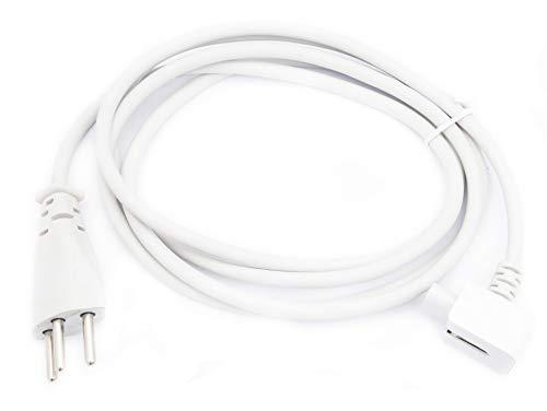 Preisvergleich Produktbild Luxburg® Stromkabel kompatibel mit Apple Netzteile Apple MacBook MagSafe, PowerBook, PowerBook Pro 15zoll 17zoll, G4, iBook, iPhone, ipod A1222 A1184 MA938 Powerbook G3 G4 usw.