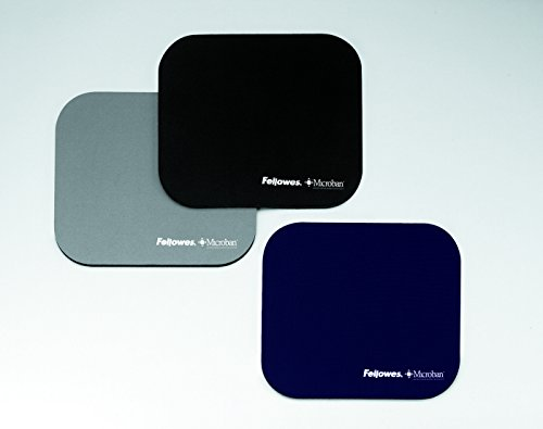 Fellowes 5934005 Mouse Pad with Microban Antibacterial Protection - Silver