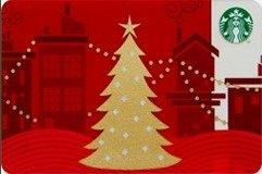 スターバックスコーヒー STARBUCKS スタバカード 2013『 ホリデー クリスマス ツリー』