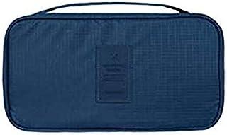 حقيبة من النايلون مضادة للماء لحفظ وتخزين وتنظيم حمالات الصدر والملابس الداخلية اثناء السفر والاعمال للنساء