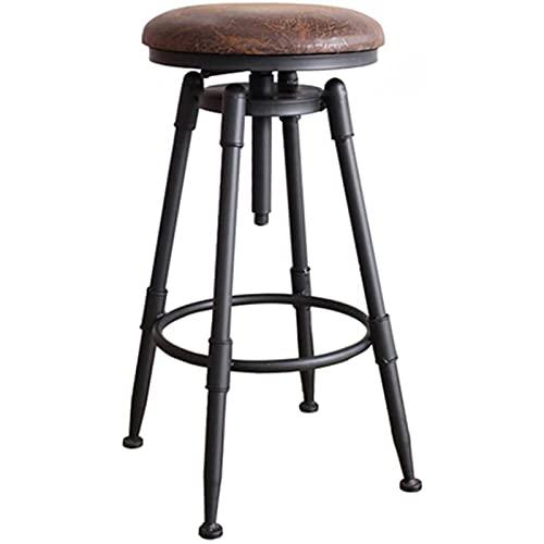 ESGT Taburetes Bar Estilo de diseño de Altura Ajustable para Cocina Islas Se Puede adaptar Perfectamente a Varias Ocasiones, hogar, Cocina, Hotel, Barra de Bar.