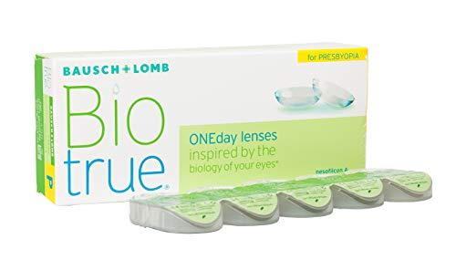 Bausch und Lomb Biotrue ONEday for Presbyopia, Tageslinsen, Kontaktlinsen weich -05.50 Dpt, DIA 14,2 mm, BC 8,60, Add High 30 Stück