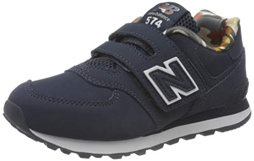 New Balance 574 YV574GYZ Medium, Scarpe da Ginnastica Ragazzi, Blue (Navy GYZ), 30