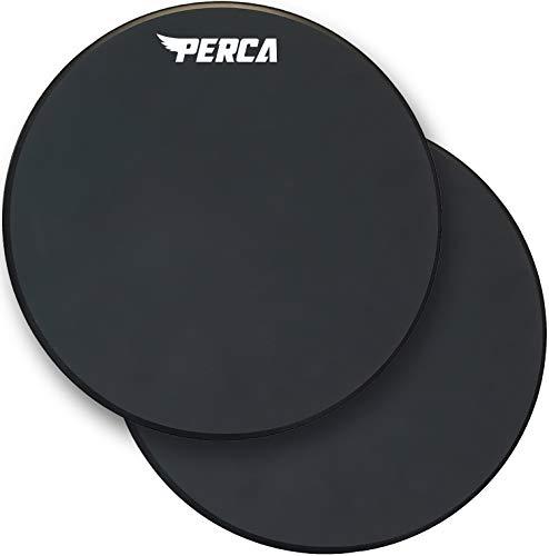 PERCA Percussion Drum Pad -12 Inch Practice Drum Pad - Premium Silicone Surface &...