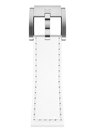 TW Steel Marc Coblen Armband Uhrenband Leder 22 MM weiss LB_W_S