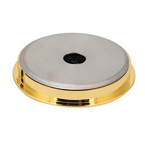 Pwshymi Herramienta de medición de monitoreo, medidor de Temperatura de Humedad de la Guitarra, Caja de Guitarra y violín para el hogar del Hotel(Golden)