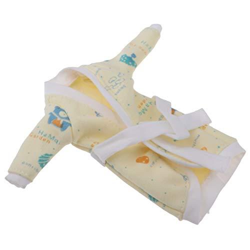 perfeclan Schöne Puppe Kleidung Bedruckte Nachtwäsche Nachthemd für 1/6 weibliche Puppen - # 2