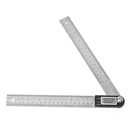 LUISONG FANMENGY Alicates Pantalla electrónica Inoxidable escalímetro ángulo calibradores Digitales 200MM Alicates Herramientas de Ojos