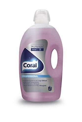 Coral Professional 100860433 Fein Flüssigwaschmittel, 67 Wäschen, Bunt