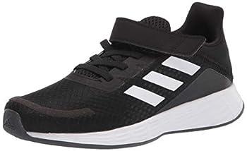 adidas unisex child Duramo Sl Running Shoe Black/White/Grey 3.5 Little Kid US