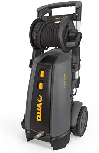 VITO Professional Hochdruckreiniger WR4 Series 180 bar 3000W mit Induktionsmotor, 8 m Schlauch, Schlauchtrommel, Turbodüse, integrierter Reinigungsmitteltank